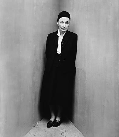 Georgia O'Keeffe, 1948 © Irving Penn, she could really see with a camera.