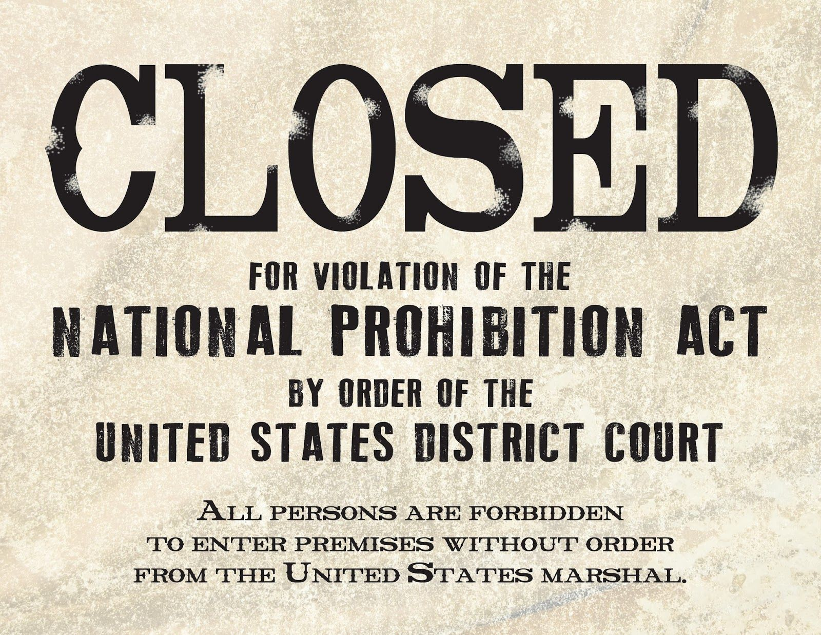 prohibition in the 1920s essay