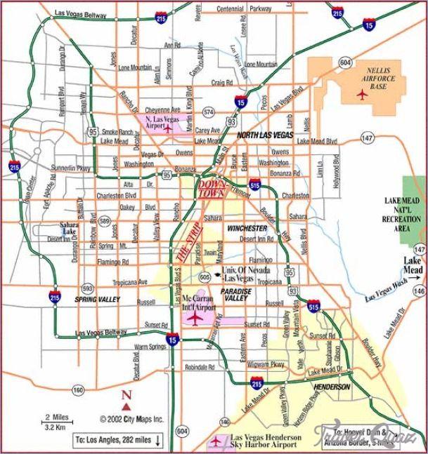 Las Vegas Metro Map httptravelquazcomlasvegasmetromaphtml