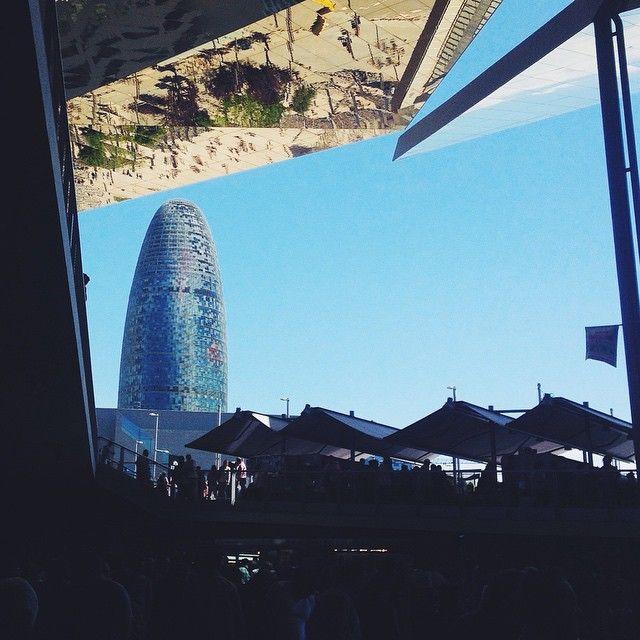 Mercat dels Encants Vells & Torre Agbar #Barcelona