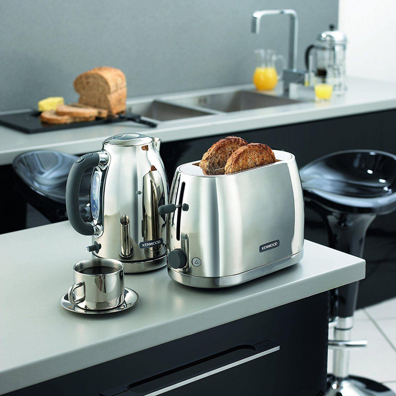 Kenwood TTM550 2-Slice Toaster, 900 W, Stainless Steel: Amazon.co.uk ...