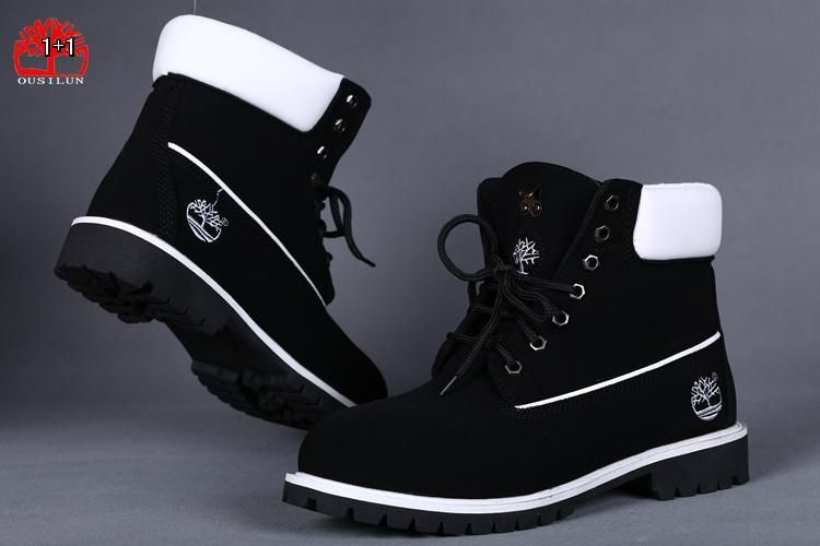 Cheap Timberland Men 6 Inch Boots Black