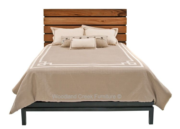 Reclaimed Wood Modern Bed