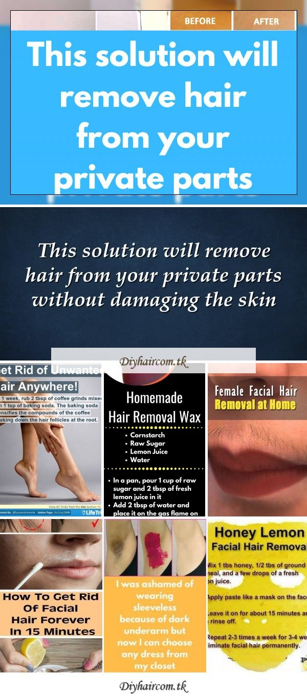 Get rid of unwanted hair everywhere! (Would be interesting to see if this little…