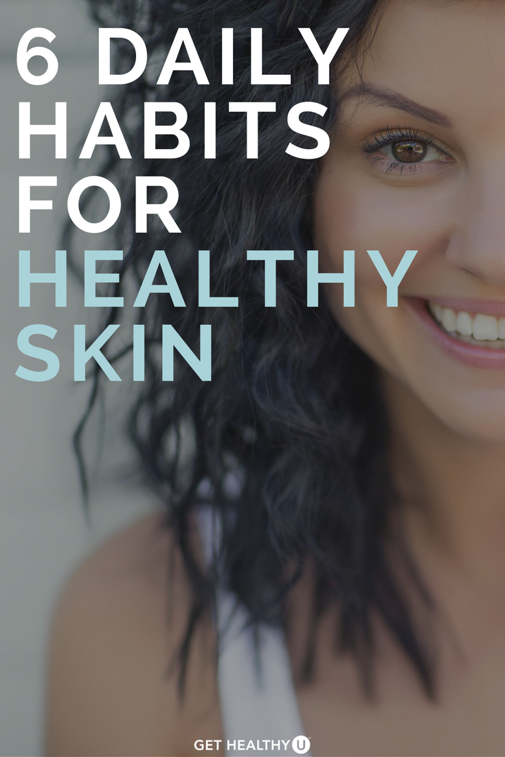 Check Out These 6 Daily Habits We Suggest To Keep Your Skin Healthy And Glowing No Matter Your Age Skincare Skin Care Face Skin Care Beauty Skin Care Routine