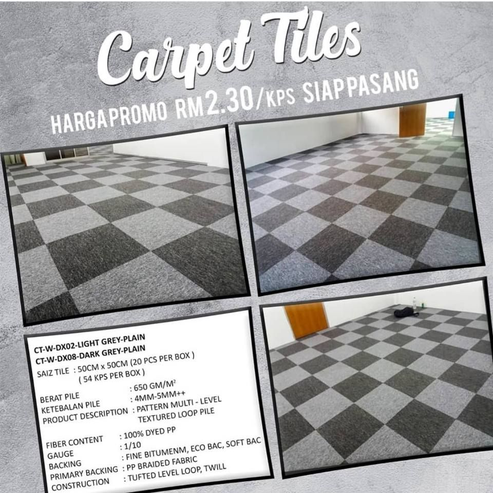 We Save You Save Promotion For Carpet Tiles At Cheapest Price