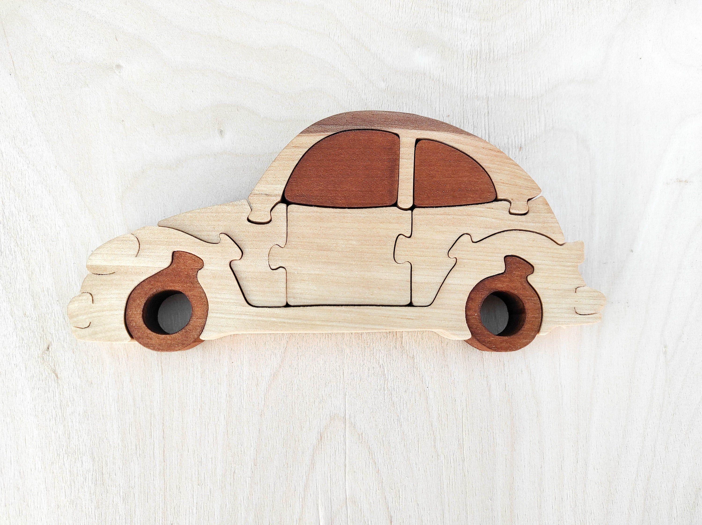 Porsche Puzzle 19x9 Cm Gift For Child Wooden Car Puzzle Child S Puzzle Kid S Wood Toys Wooden Toys Wooden Porsch Wooden Animal Toys Wooden Toys Kids Wood