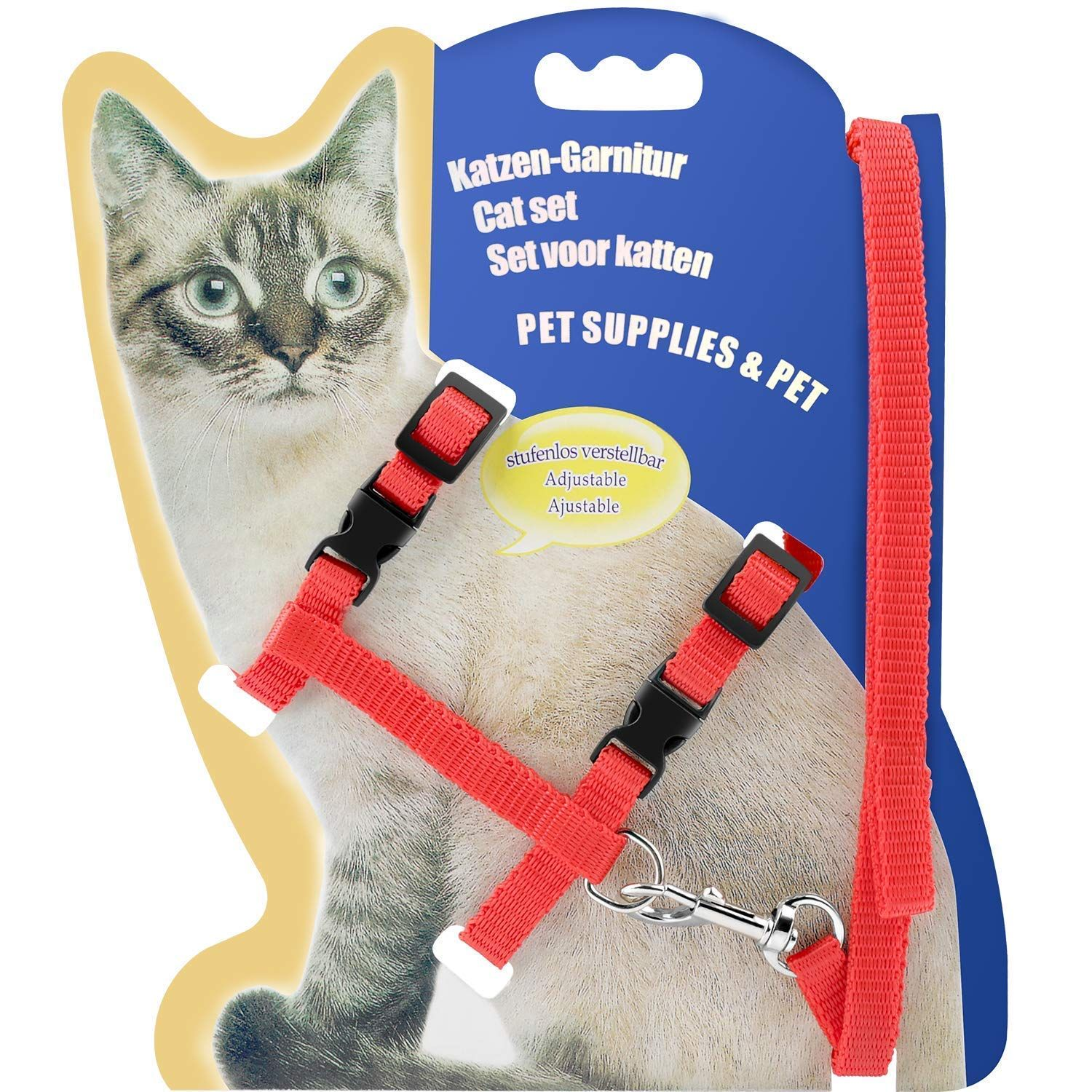 Pin On Cat Collars Harnesses And Leashes