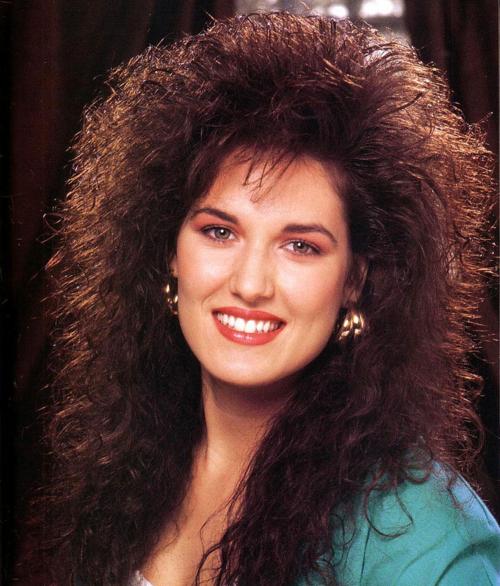 short big hair perms - google