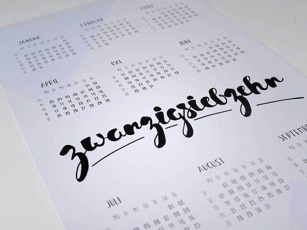 Jahreskalender 2017 von unikatis – Wandkalender