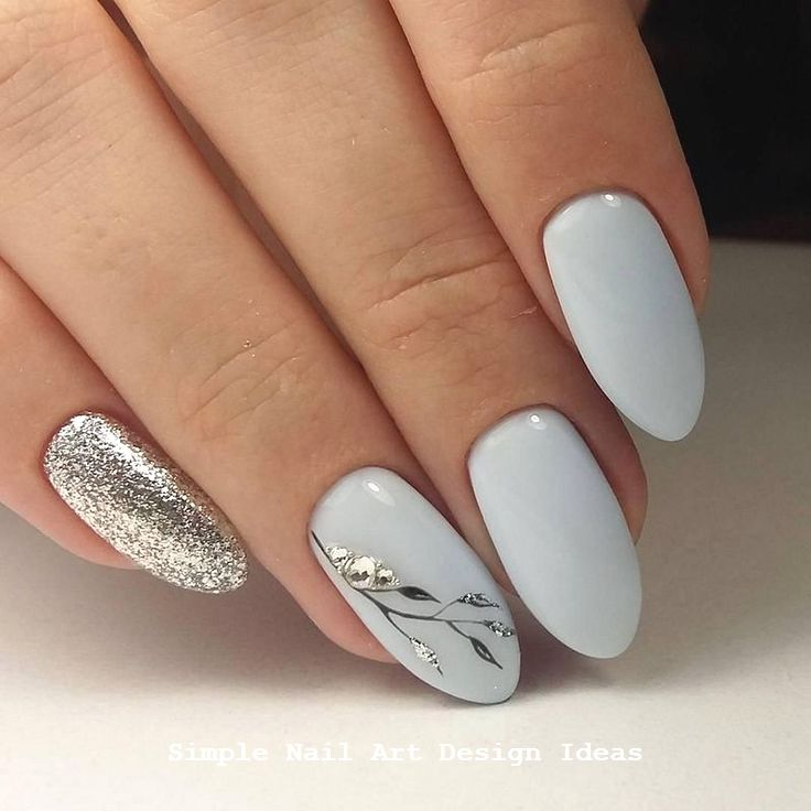 Pin By Chelsea Shepard On Nails In 2019 Grey Nail Art