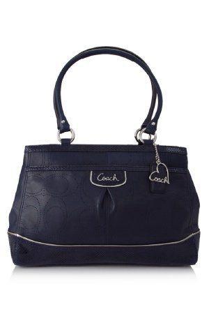 Coach Park Leather Carryall Denim 19969 (886382514676)