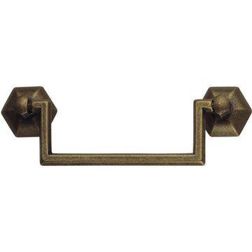 cabinet door pulls floral cabinet door knobs DIY vintage hardware Hollywood regency door pulls Ornate brass drawer pulls set of four