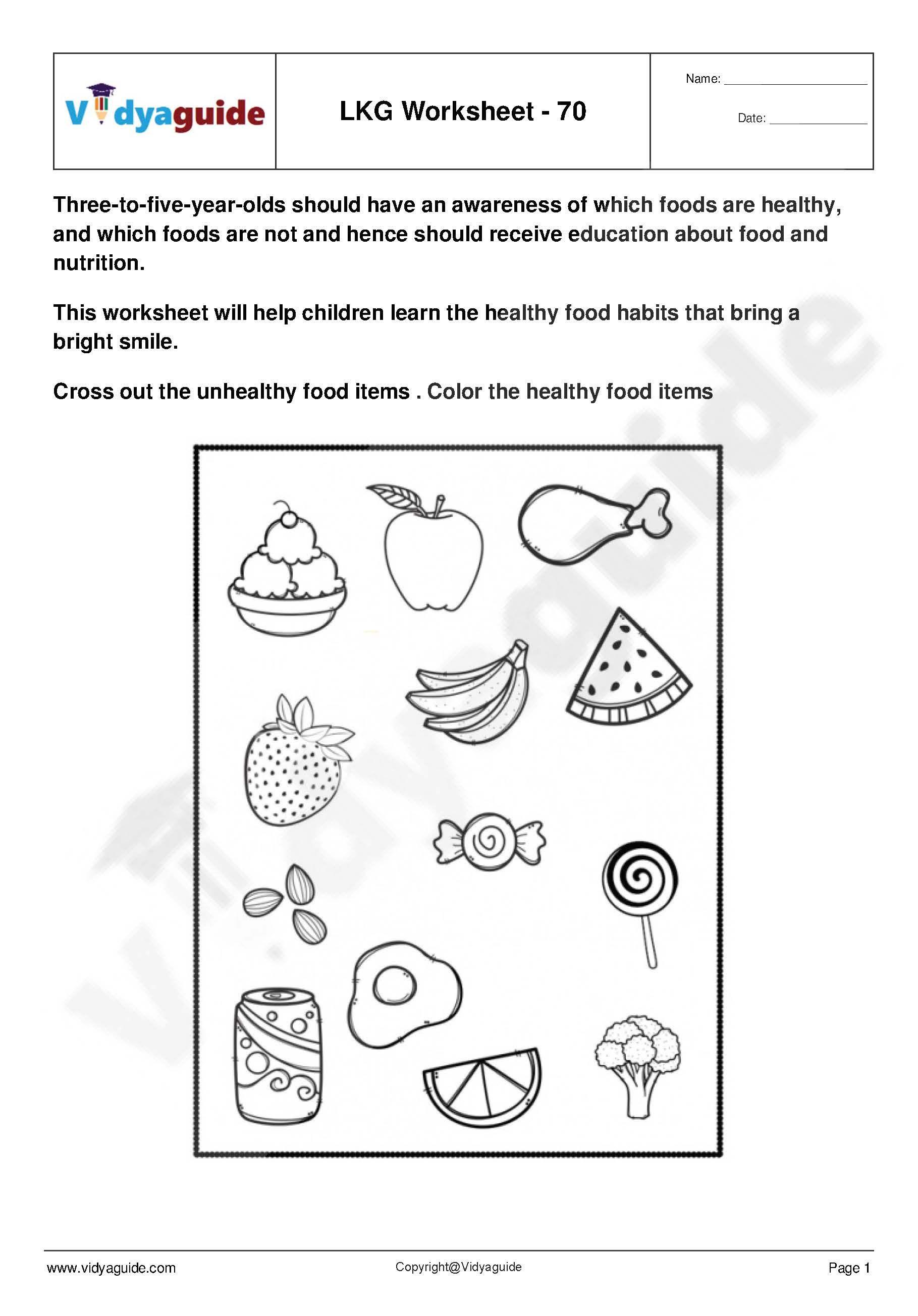 Lkg Worksheets Set 13