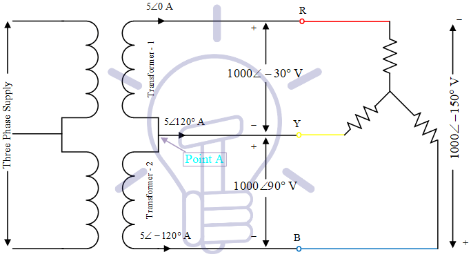 Open Delta Connections Of Transformers Electrical Technology Delta Connection Free Energy Generator Electrical Transformers