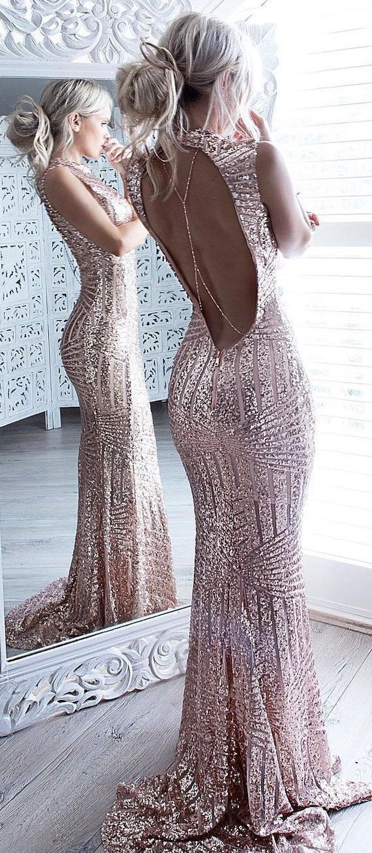 Mermaid Prom Dresses, Sparkle Prom Dress,Beaded Sequins Prom Dresses,Bodice Backless Prom Dress For Senior Teens,Sexy Evening Dresses,Prom Dress PD024 #promthings