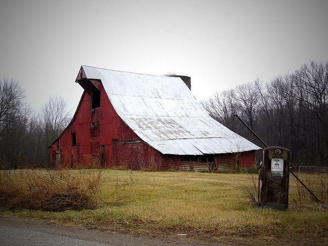 Rural Americana Old Barns Rustic Barn Red Barns