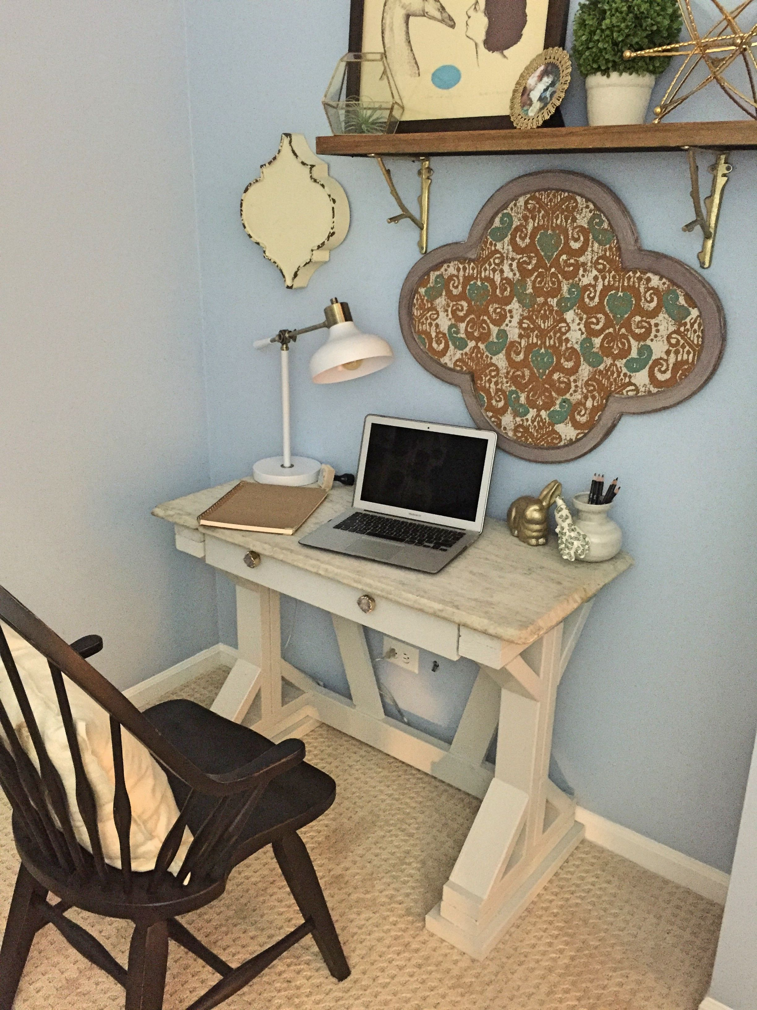 ✓34 Divine Farmhouse Desk Table To Looks Classy #industrialfarmhouselivingroom