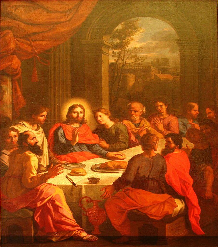 Louis Parrocel - Last Supper | Auferstehung Jesus | Pinterest ...