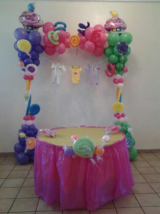 Candyland Baby Shower