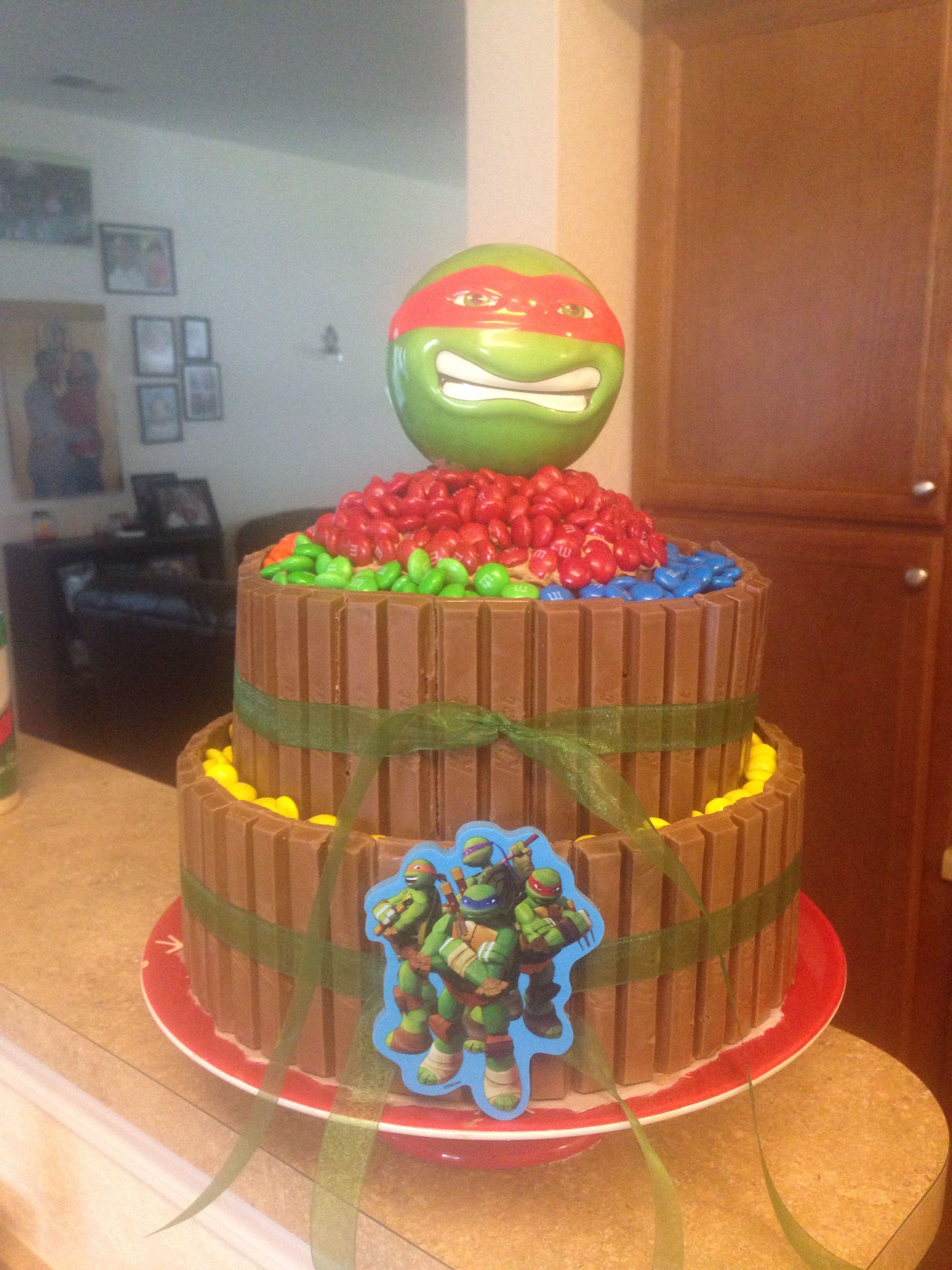 Kit Kat M M Ninja Turtle Cake Turtle Cake Ninja Turtle Cake Cake