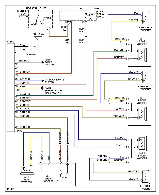 5c9d42d71216d8d06df56c3f4ec500b3 2000 vw jetta wiring diagram diagram pinterest cars vw jetta radio wiring diagram at creativeand.co