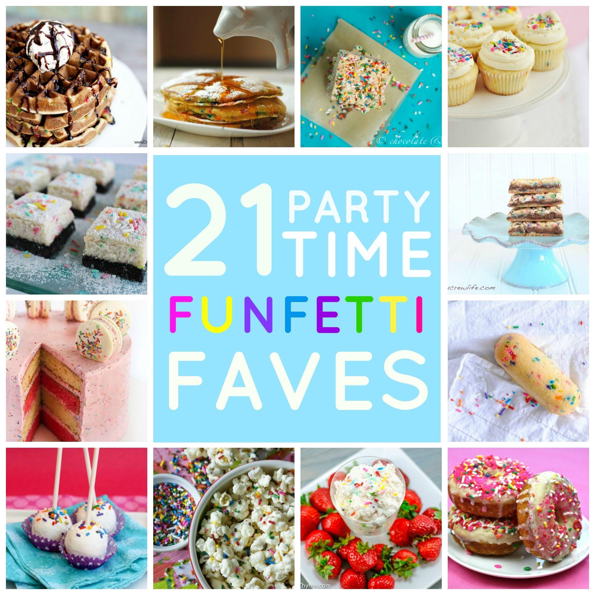 21 Fun Ways To Use Funfetti Cake Mix Cake With
