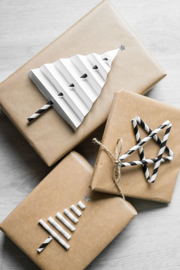 WEIHNACHTSGESCHENKE VERPACKEN - 5 EINFACHE DIY-IDEEN #christmasgiftideas