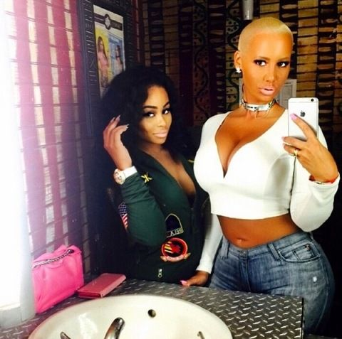 9b6e1291998e4 Blac Chyna and Amber Rose have become buddy-buddy since they both broke up  with their rapper-baby-daddys. Description from johnakweh.blogspot.com. I  ...