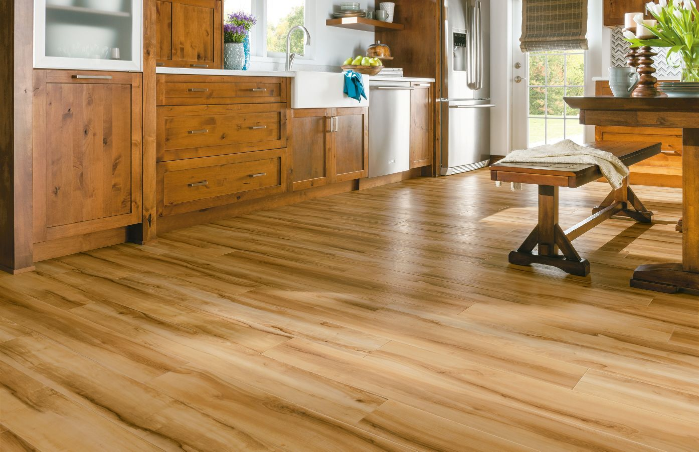 Armstrong Luxury Vinyl Plank Flooring Lvp Natural Wood