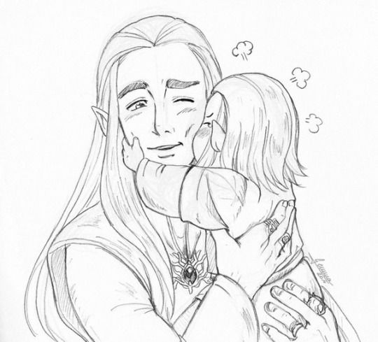 Thranduil and Legolas (Lord of the Rings) | Movie Madness | Pinterest