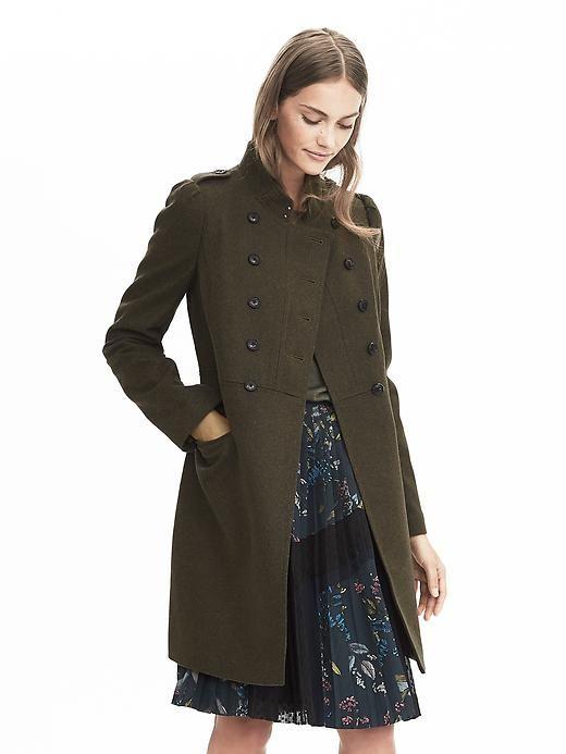 9bacae8b4 military jacket | wear | Coat, Fashion, Jackets