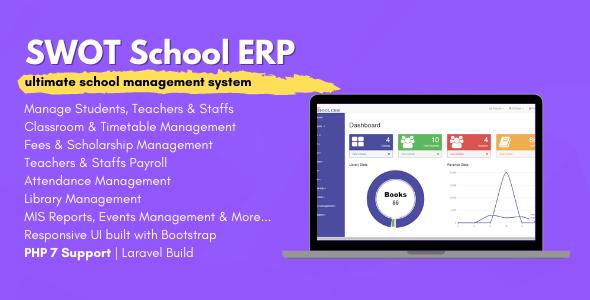 Swot School School Management Software Stylelib Code In 2021 School Management Learning Management System Online School