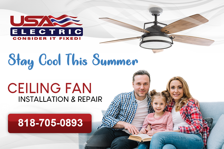 Ceiling fans are a great alternative to air conditioning