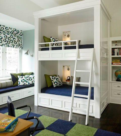 Literas para habitaciones ideas para hacer una casa Pinterest