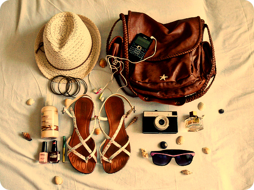 everything you need for a day at the beach!