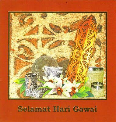 Satria Updates Selamat Hari Gawai E Greetings Greetings Art