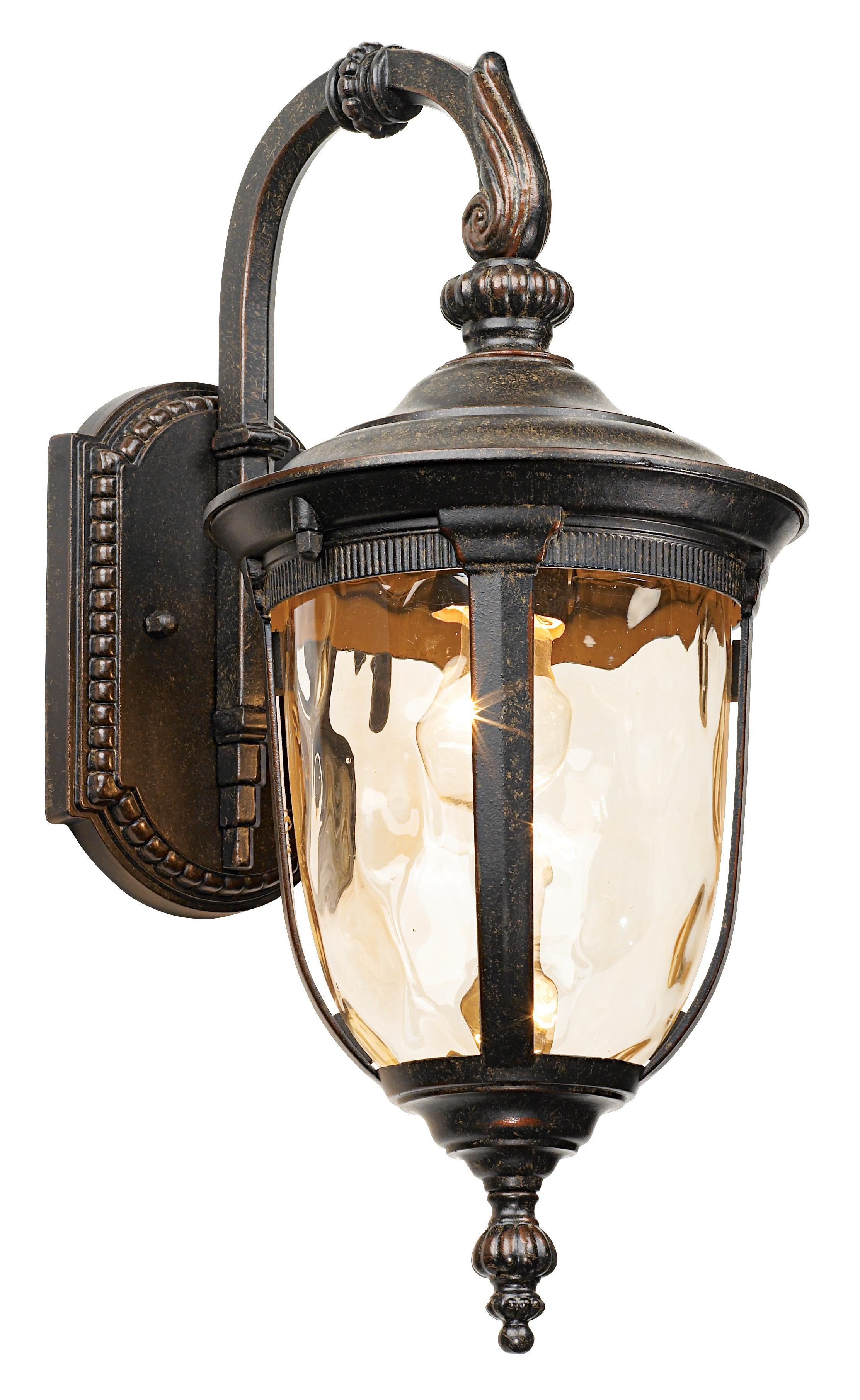 Bellagio 16 1 2 High Bronze Downbridge Outdoor Wall Light 46910 Lamps Plus Outdoor Wall Light Fixtures Wall Lights Outdoor Wall Lighting