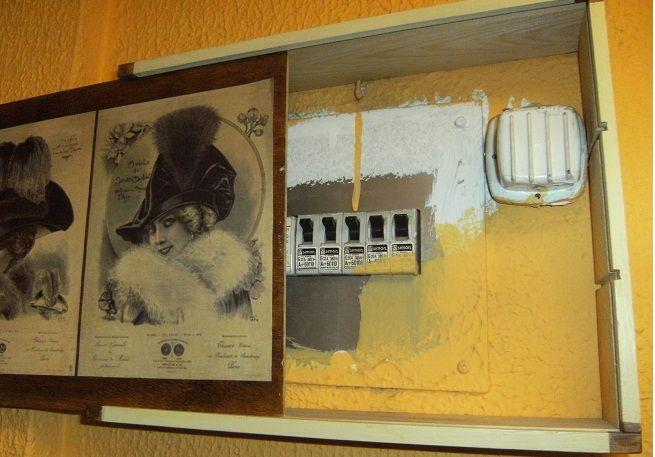 Ocultar el cuadro de luces pinteres - Cuadro electrico domestico ...