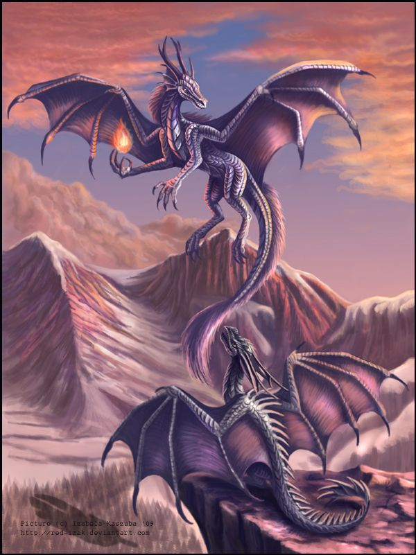 Dragon tales by *Red-IzaK on deviantART | DRAGONES | Pinterest ...