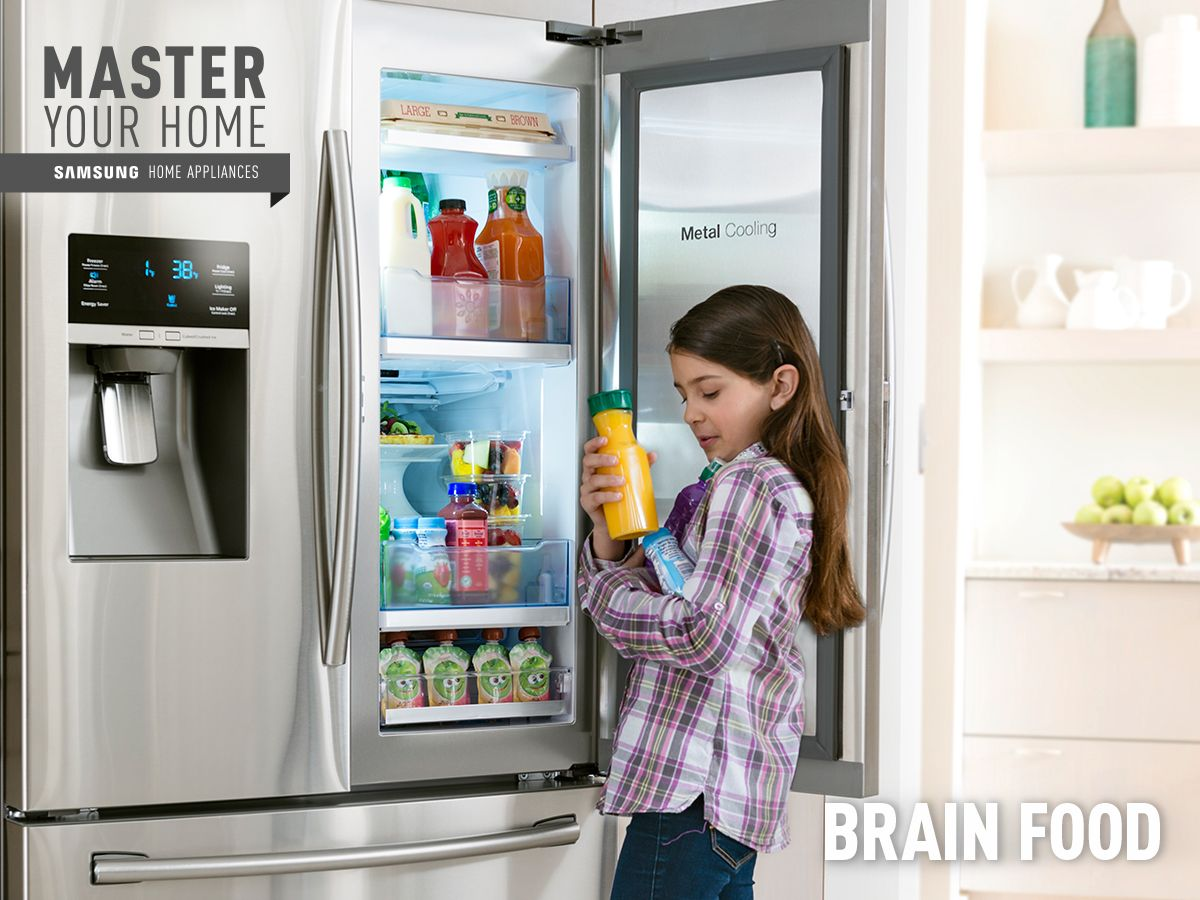 Get an A+ on after-school eats with cooler access to smart snacking. #MasterYourHome