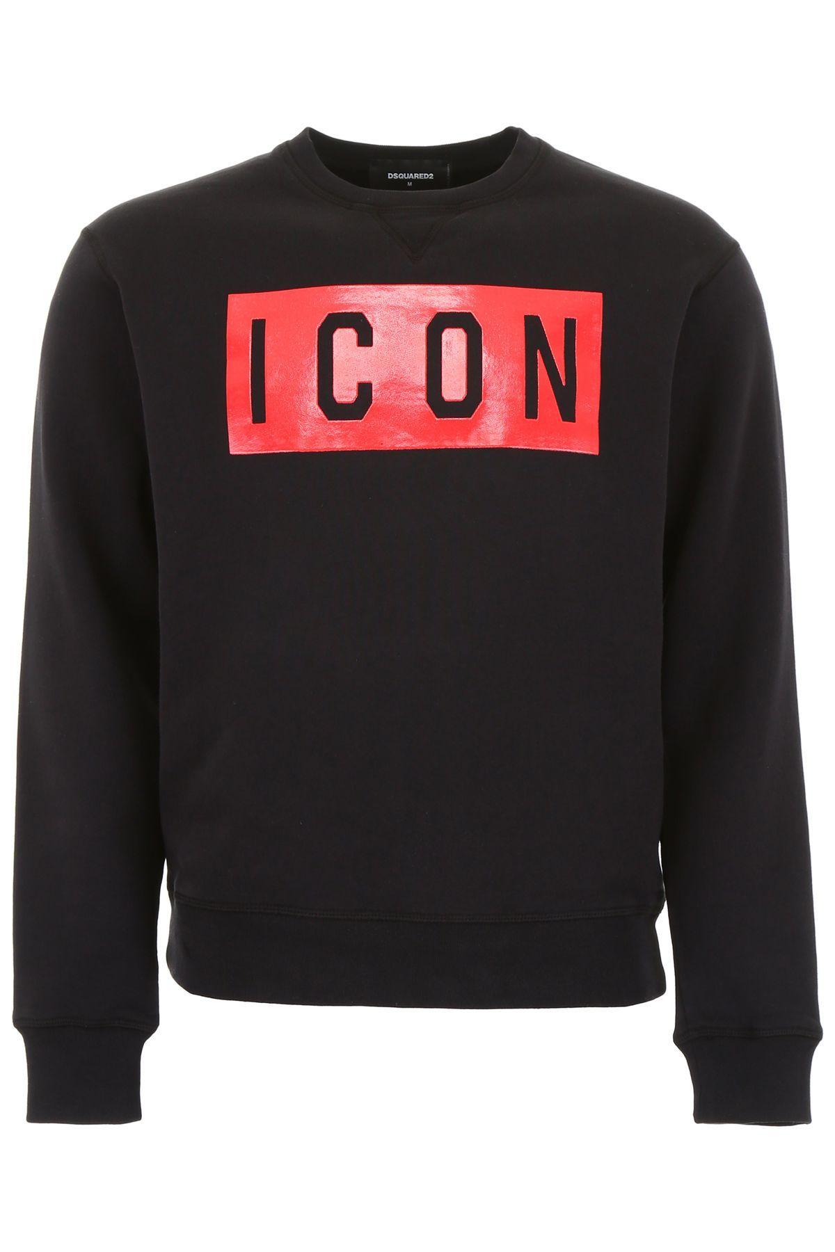 Dsquared2 Icon Sweatshirt Dsquared2 Cloth Sweatshirts Jersey Sweatshirt Long Sleeve Sweatshirts [ 1800 x 1200 Pixel ]