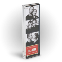 This Acrylic Block 2x6 Photo Booth Frame Is Ideal For Favors Or Table Markers Photo Booth Frame Photo Booth Picture Frames Picture Frame Display