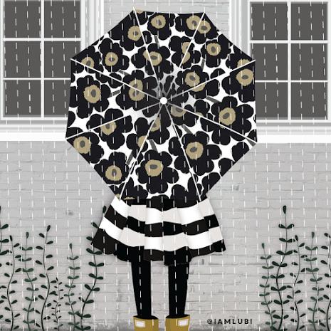 umbrellas.quenalbertini: 'Lubi' Luiza Bione, Pinzellades al món