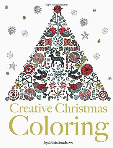 Creative Christmas Coloring Classic Christmas themes and patterns
