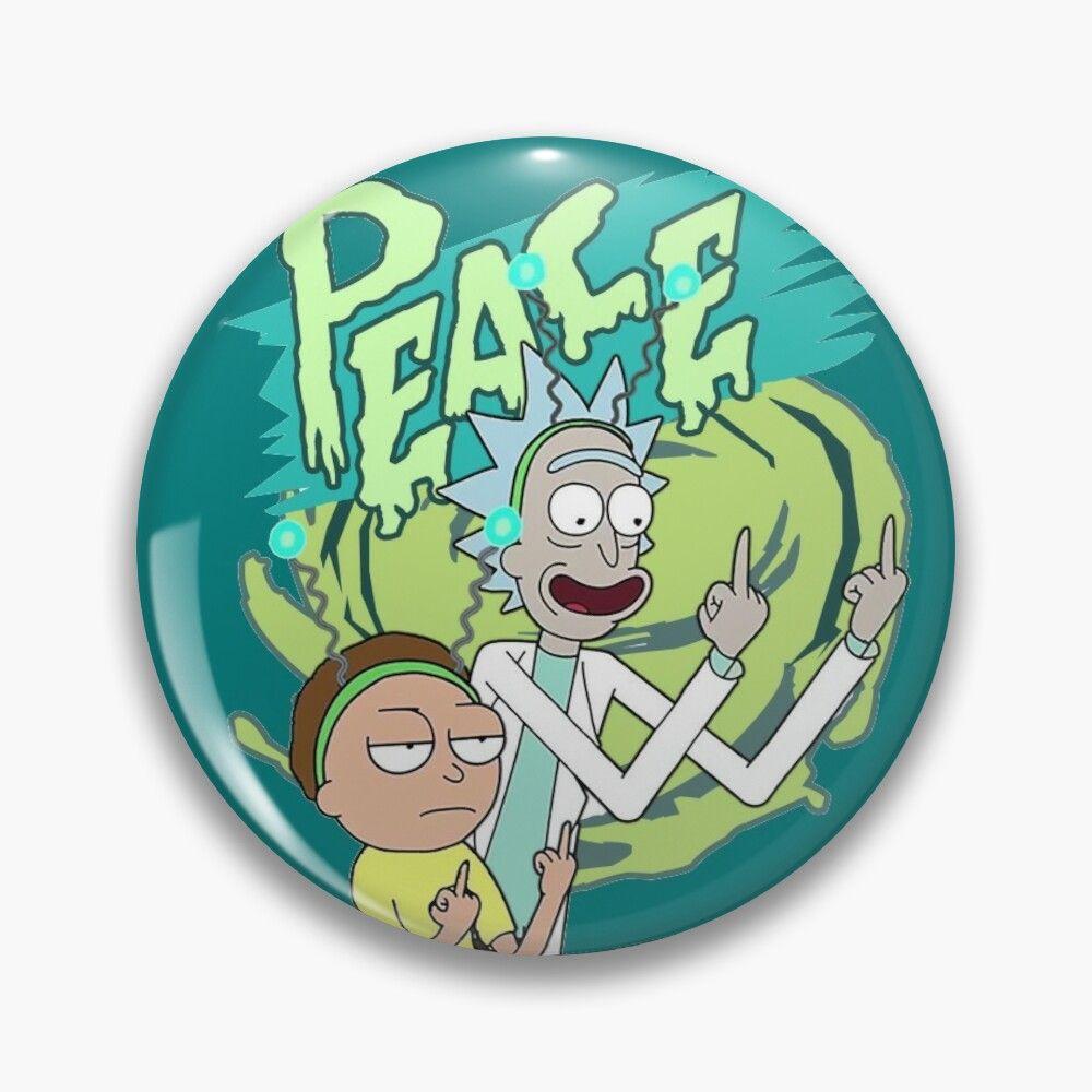 Pin En Rick And Morty
