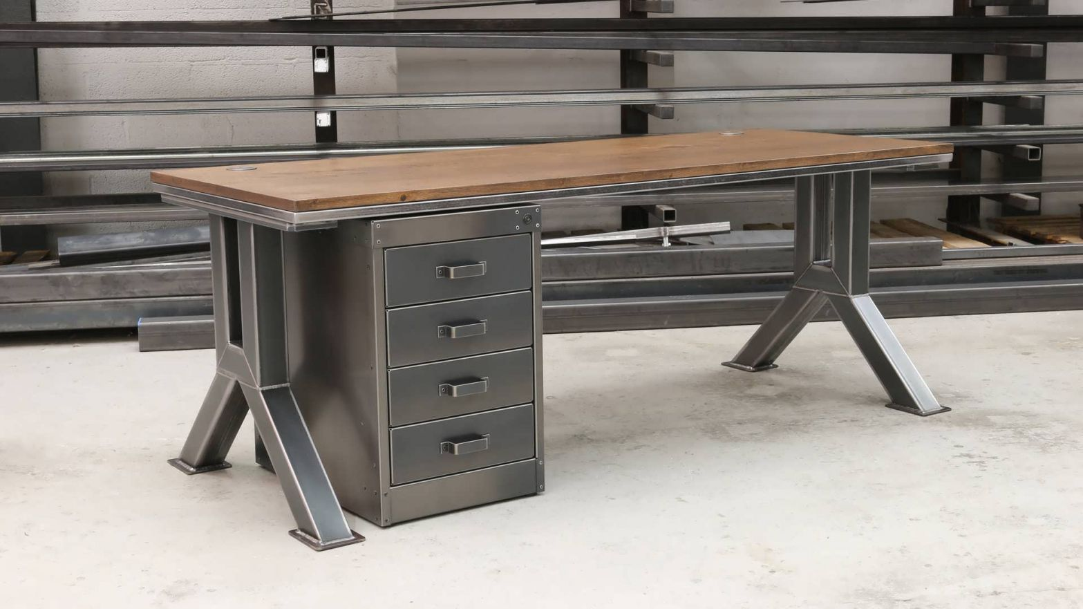 55 Industrial Executive Desk Ashley Furniture Home Office Check