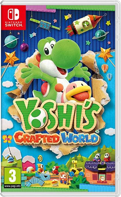 Amazon Com Yoshi S Crafted World Nintendo Switch Video Games Yoshi Nintendo Switch Games Games For Kids
