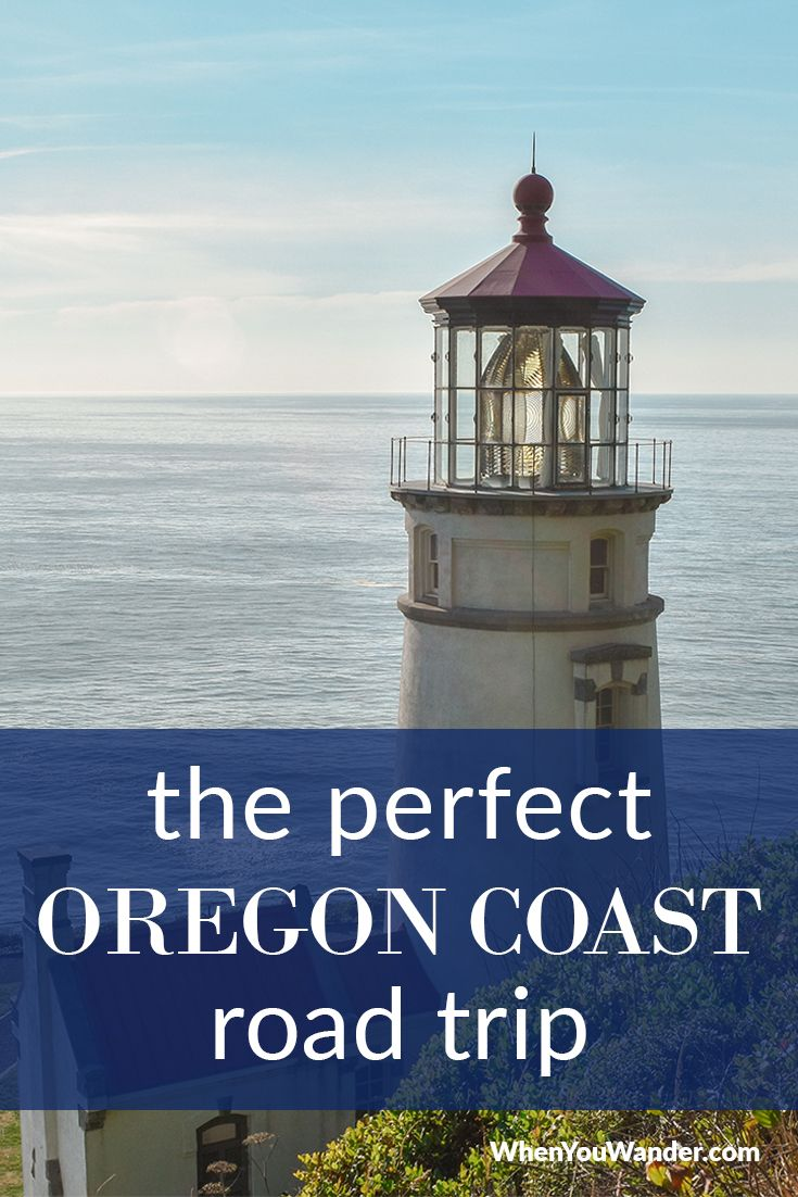 Perfect Oregon Coast Road Trip Itinerary