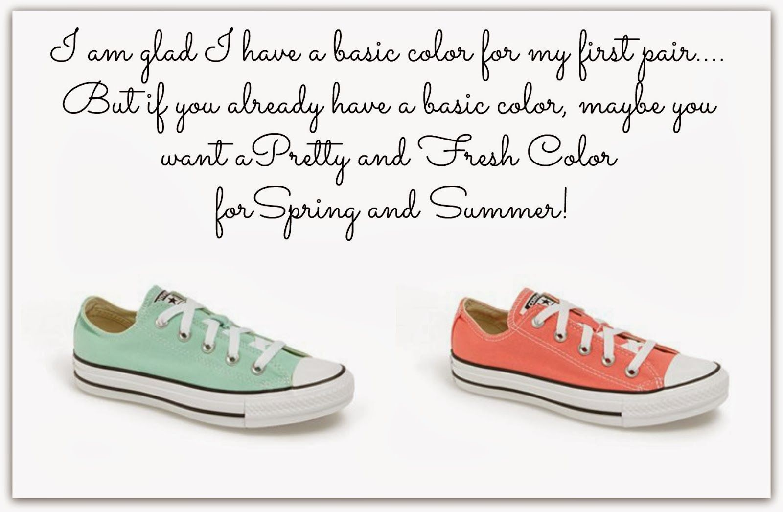 awesome converse colors for spring and summer